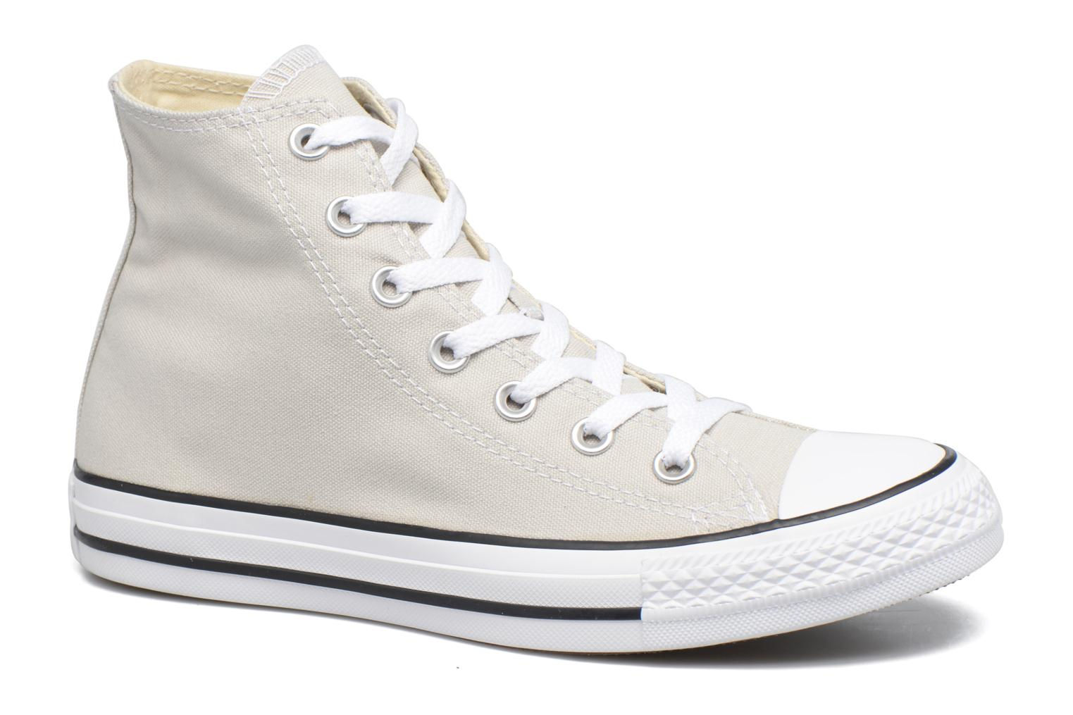 Baskets Converse Chuck Taylor All Star Hi W Beige vue détail/paire