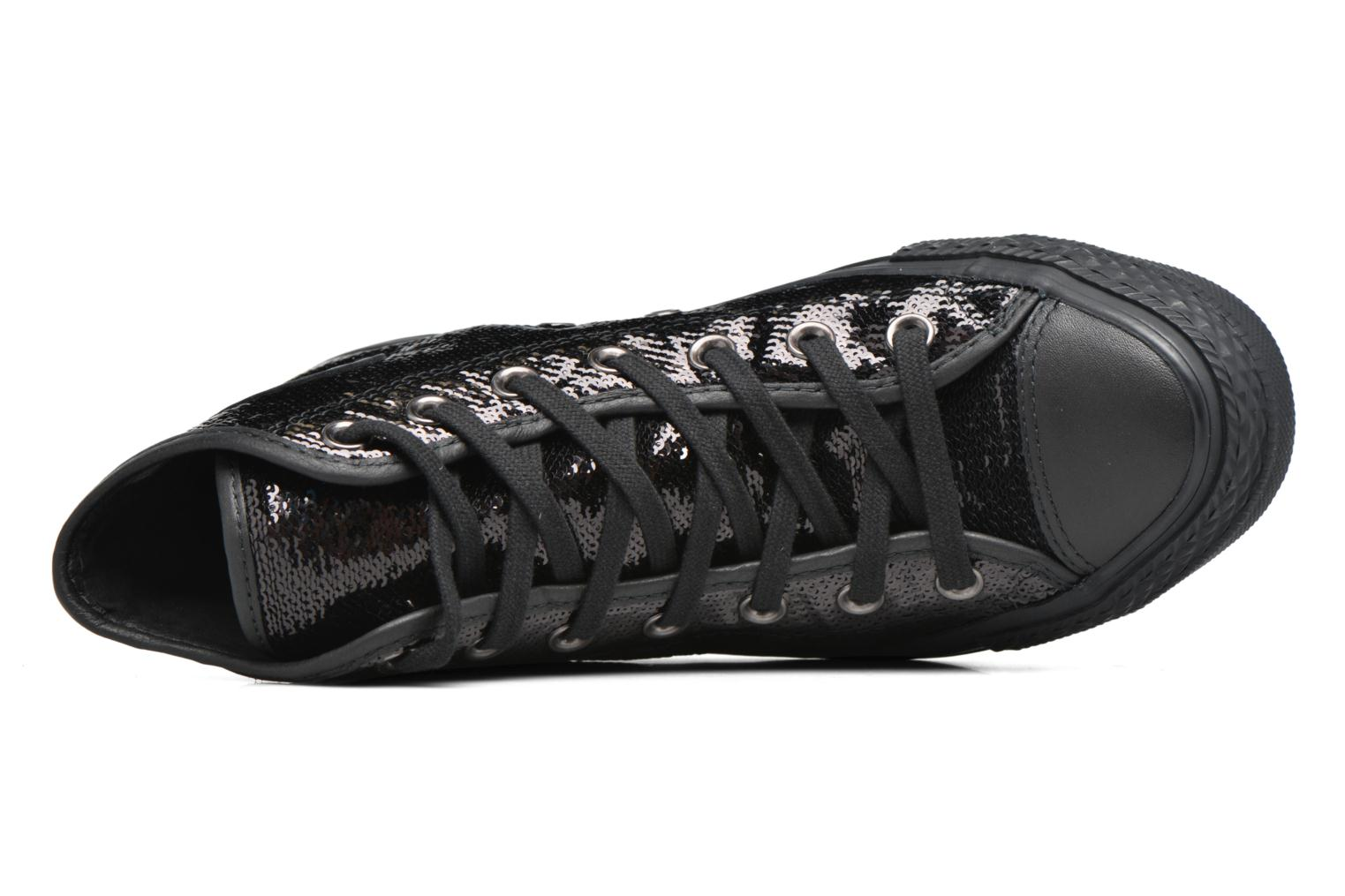 Sneakers Converse Chuck Taylor All Star Hi W Sort se fra venstre