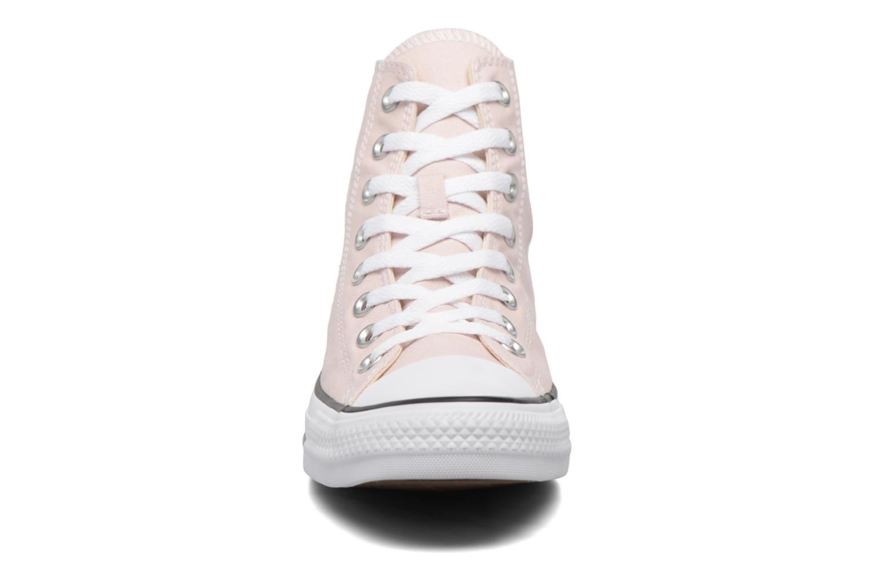 Baskets Converse Chuck Taylor All Star Hi W Rose vue portées chaussures