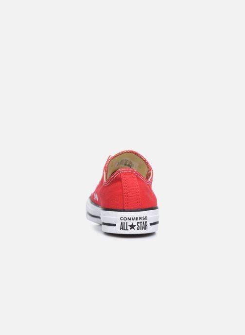 Sneakers Converse Chuck Taylor All Star Ox W Rød Se fra højre