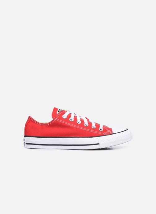 Sneaker Converse Chuck Taylor All Star Ox W rot ansicht von hinten