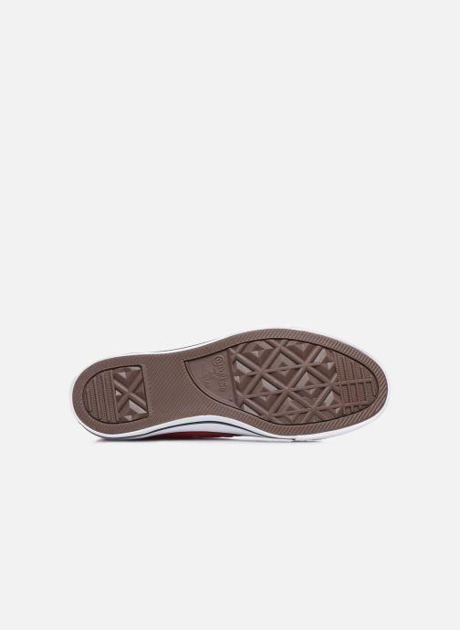 Sneakers Converse Chuck Taylor All Star Ox W Rosso immagine dall'alto