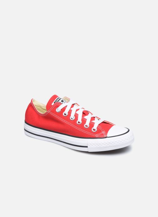 Sneakers Converse Chuck Taylor All Star Ox W Rød detaljeret billede af skoene