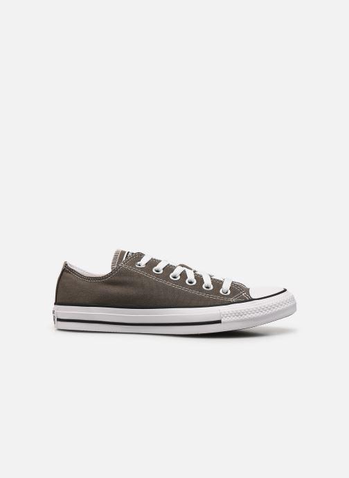 Sneaker Converse Chuck Taylor All Star Ox W grau ansicht von hinten