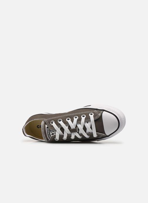 Sneaker Converse Chuck Taylor All Star Ox W grau ansicht von links