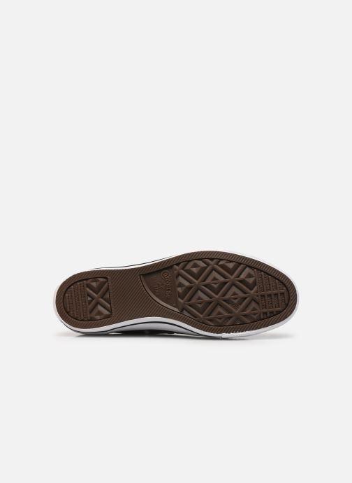 Sneaker Converse Chuck Taylor All Star Ox W grau ansicht von oben