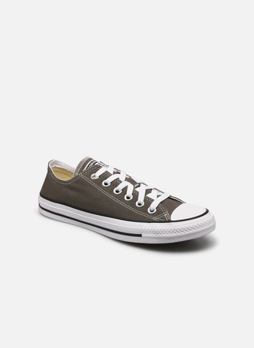 low priced ffa39 c1cb1 Baskets Converse Chuck Taylor All Star Ox W Gris vue détail paire