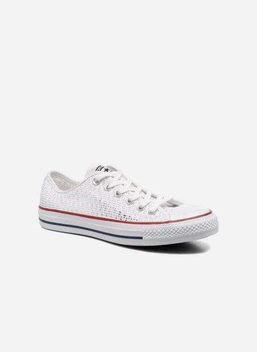Baskets Converse Chuck Taylor All Star Ox W Blanc vue détail/paire