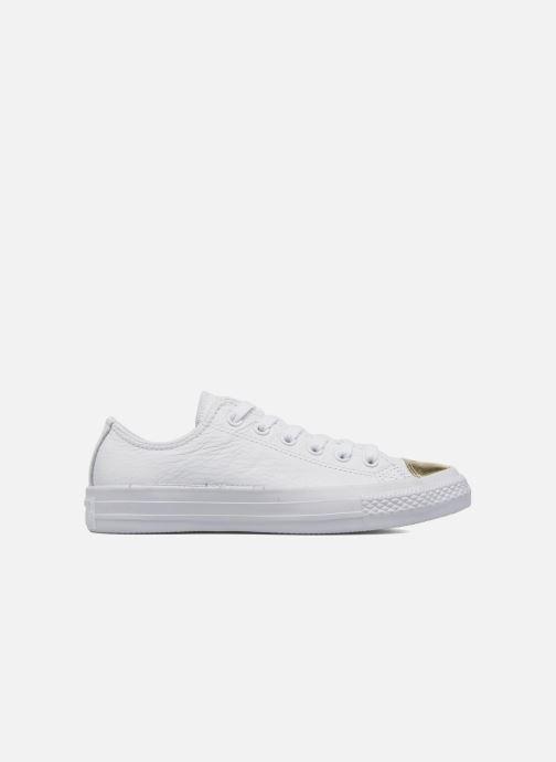 Sneaker Converse Chuck Taylor All Star Ox W weiß ansicht von hinten
