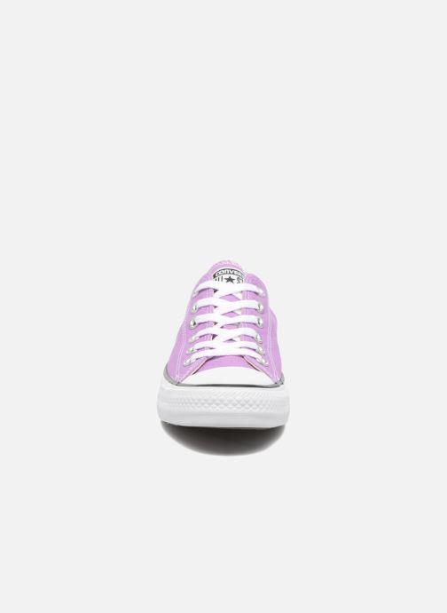 Sneaker Converse Chuck Taylor All Star Ox W lila schuhe getragen