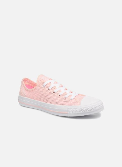 Baskets Converse Chuck Taylor All Star Ox W Rose vue détail/paire