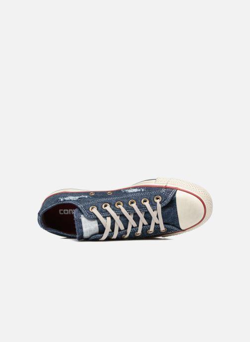 Converse Chuck Taylor Taylor Taylor All Star Ox W (Azzurro) - scarpe da ginnastica chez | Il colore è molto evidente  eeb5e3