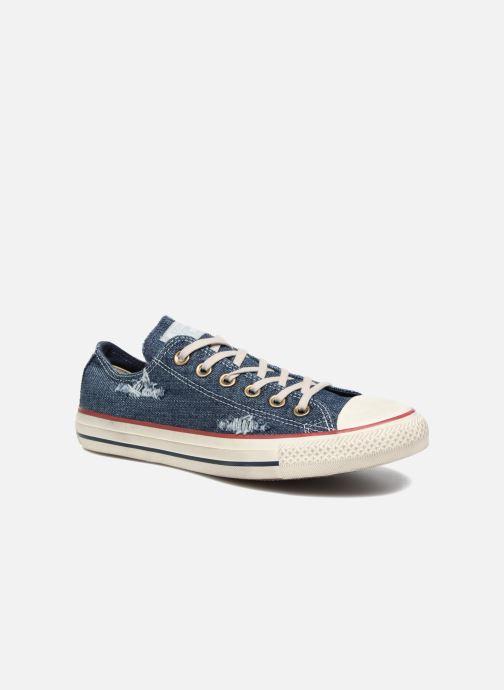 70f65824 Sneakers Converse Chuck Taylor All Star Ox W Blå detaljeret billede af  skoene