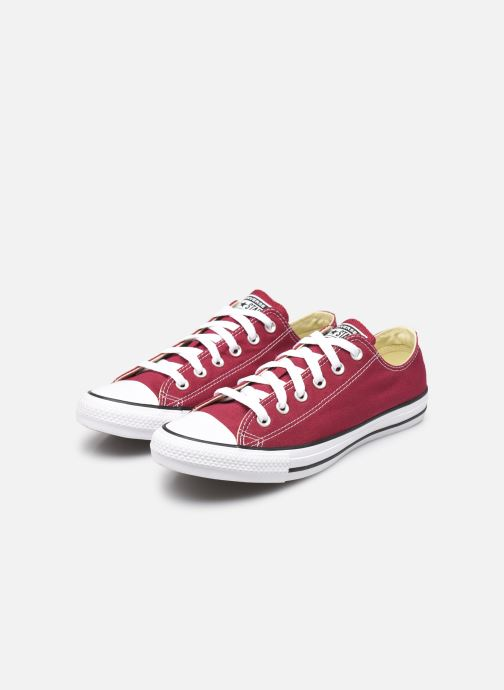 Trainers Converse Chuck Taylor All Star Ox W Burgundy view from underneath / model view