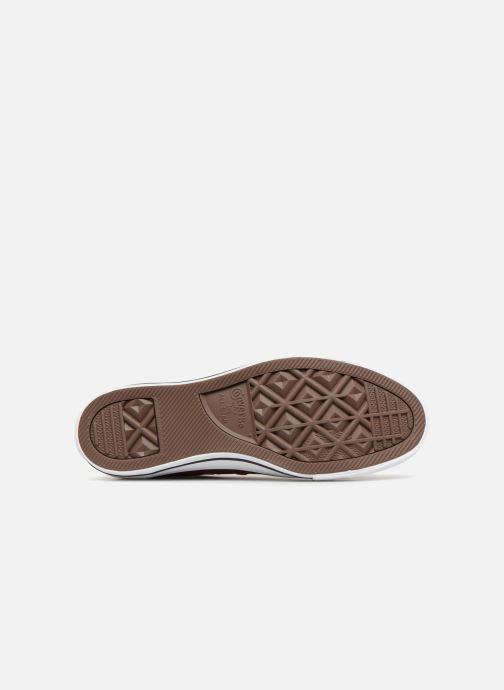 Sneaker Converse Chuck Taylor All Star Ox W weinrot ansicht von oben