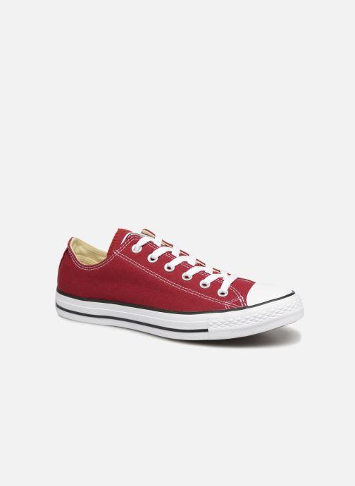 Sneakers Converse Chuck Taylor All Star Ox W Bordeaux detaljeret billede af skoene
