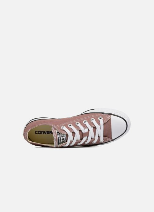 Sneaker Converse Chuck Taylor All Star Ox W rosa ansicht von links