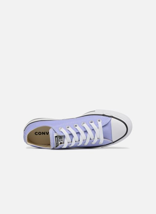 Sneaker Converse Chuck Taylor All Star Ox W lila ansicht von links