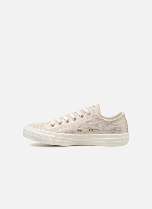 Sneaker Converse Chuck Taylor All Star Ox W weiß ansicht von vorne