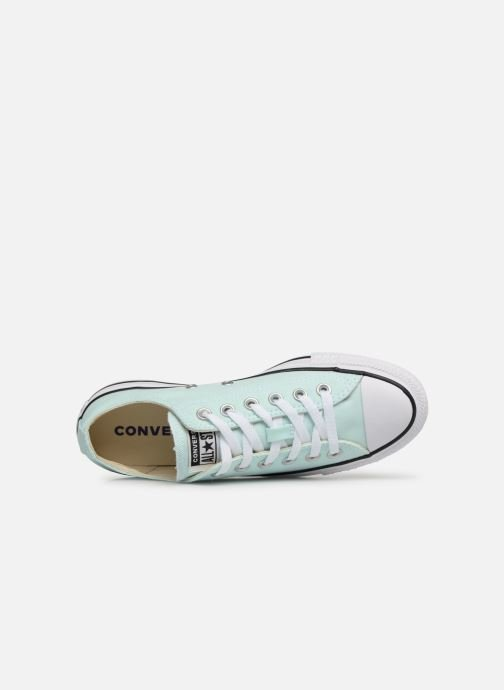 Trainers Converse Chuck Taylor All Star Ox W Blue view from the left