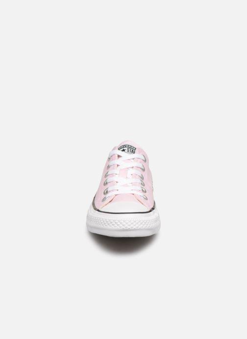 Sneaker Converse Chuck Taylor All Star Ox W rosa schuhe getragen