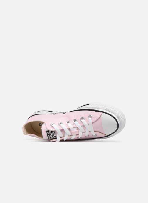 Trainers Converse Chuck Taylor All Star Ox W Pink view from the left