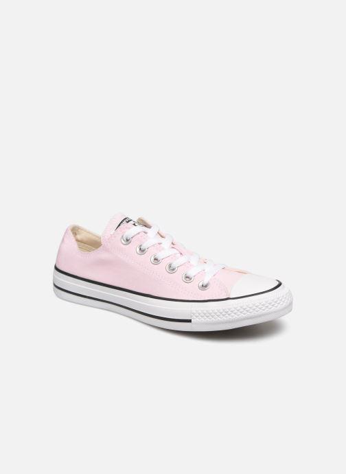 Sneakers Converse Chuck Taylor All Star Ox W Pink detaljeret billede af skoene