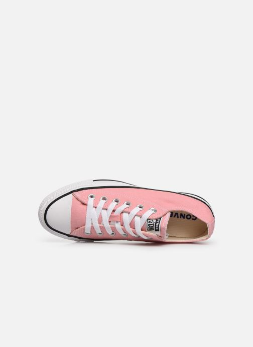 Sneakers Converse Chuck Taylor All Star Ox W Pink se fra venstre