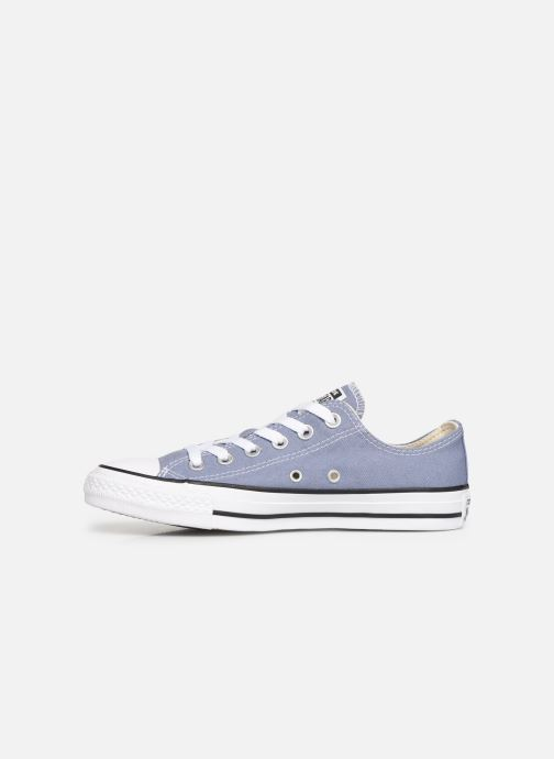 Baskets Converse Chuck Taylor All Star Ox W Bleu vue face