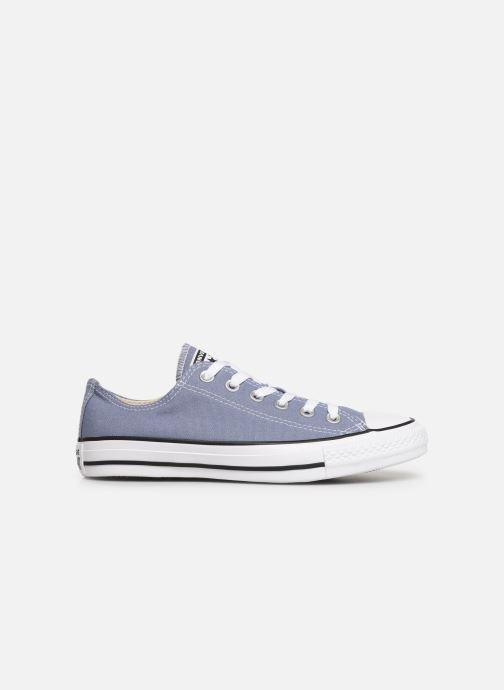 Sneakers Converse Chuck Taylor All Star Ox W Blå se bagfra
