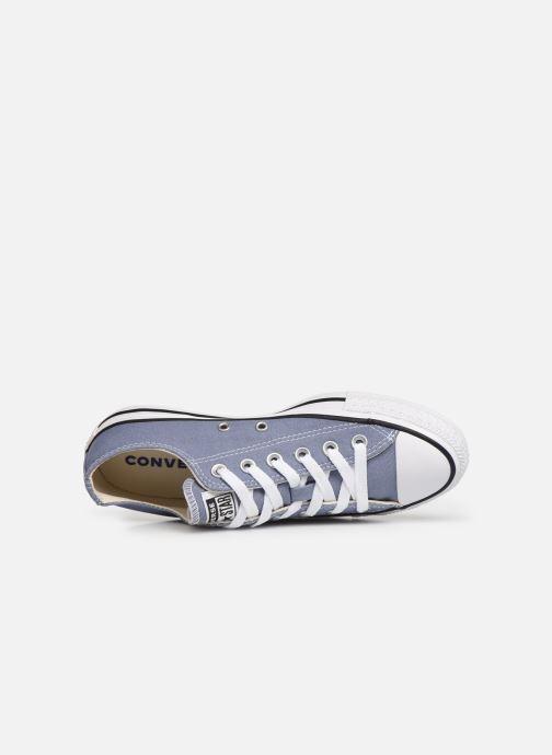 Sneaker Converse Chuck Taylor All Star Ox W blau ansicht von links