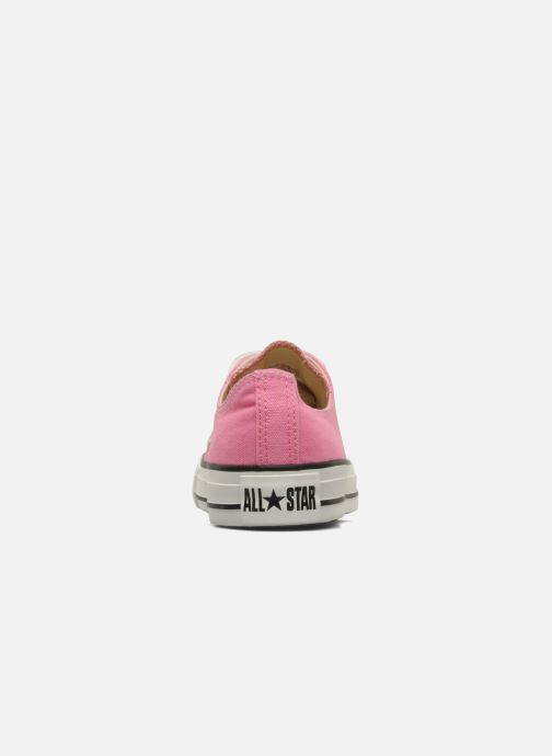 Sneaker Converse Chuck Taylor All Star Ox W rosa ansicht von rechts