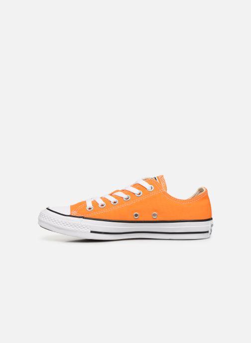 Sneaker Converse Chuck Taylor All Star Ox W orange ansicht von vorne