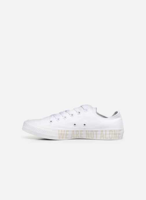 Sneakers Converse Chuck Taylor All Star Ox W Hvid se forfra