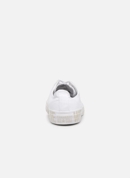 Sneakers Converse Chuck Taylor All Star Ox W Hvid Se fra højre