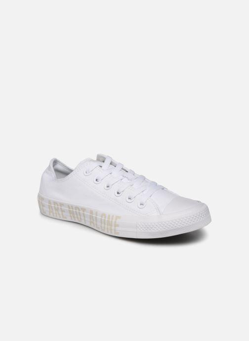 Sneakers Converse Chuck Taylor All Star Ox W Hvid detaljeret billede af skoene