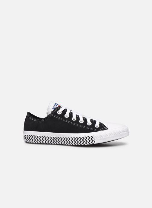 Sneaker Converse Chuck Taylor All Star Ox W schwarz ansicht von hinten