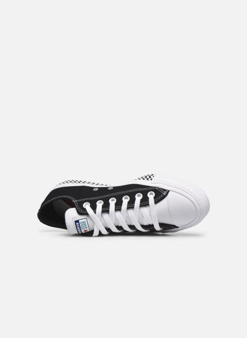 Sneaker Converse Chuck Taylor All Star Ox W schwarz ansicht von links