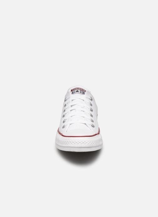 Sneaker Converse Chuck Taylor All Star Ox W weiß schuhe getragen