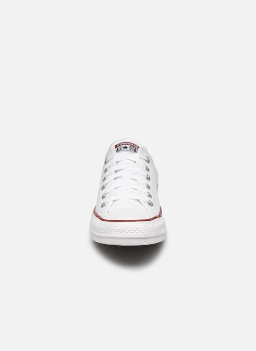 Baskets Converse Chuck Taylor All Star Ox W Blanc vue portées chaussures