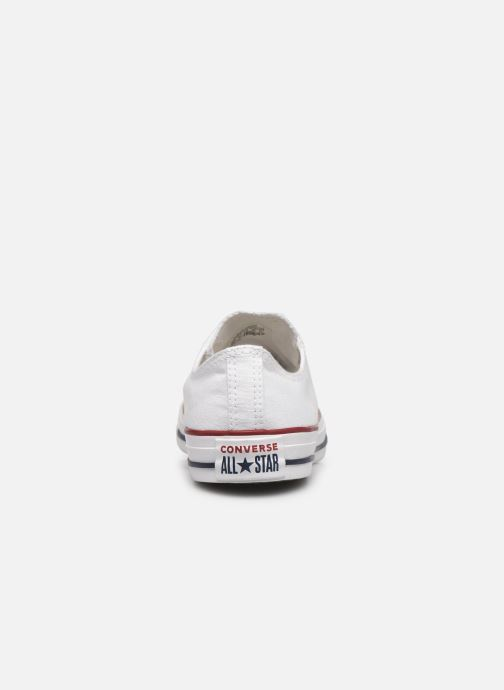 Sneakers Converse Chuck Taylor All Star Ox W Wit rechts