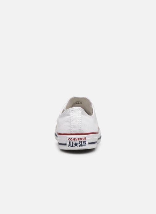 Sneaker Converse Chuck Taylor All Star Ox W weiß ansicht von rechts