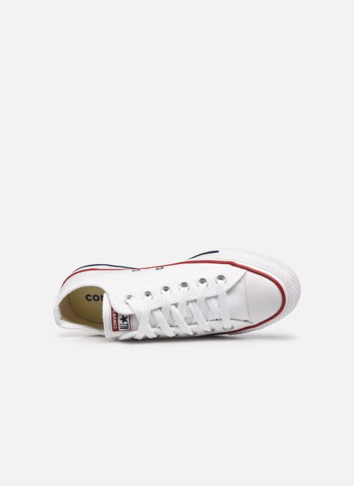 Sneakers Converse Chuck Taylor All Star Ox W Bianco immagine sinistra