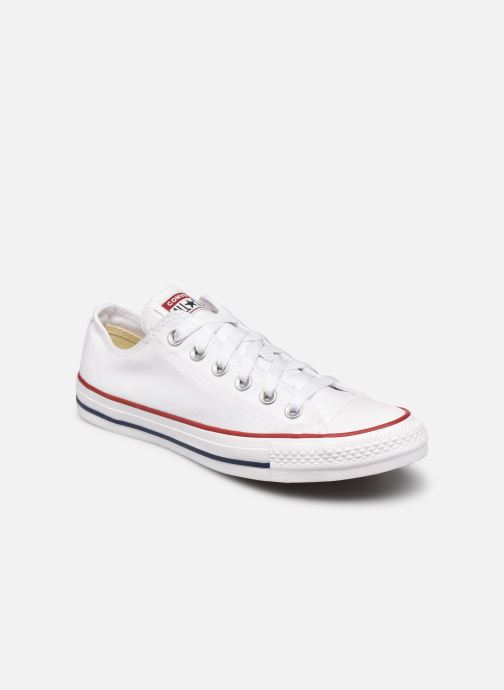 reputable site b7e68 2ccb3 Baskets Converse Chuck Taylor All Star Ox W Blanc vue détail paire