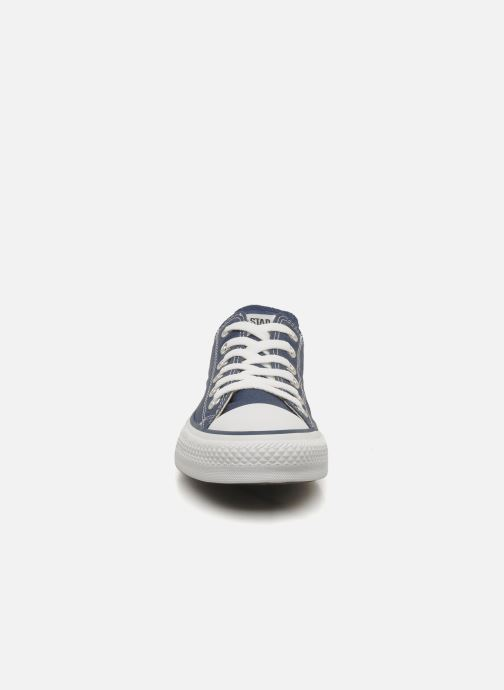 Baskets Converse Chuck Taylor All Star Ox W Bleu vue portées chaussures