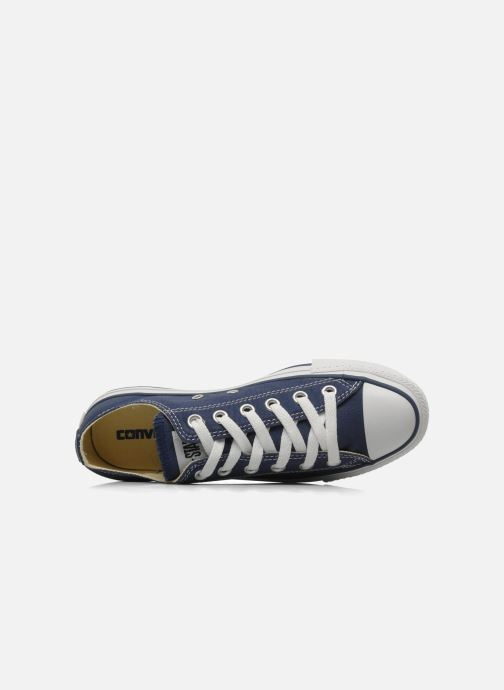 Sneaker Converse Chuck Taylor All Star Ox W blau ansicht von links