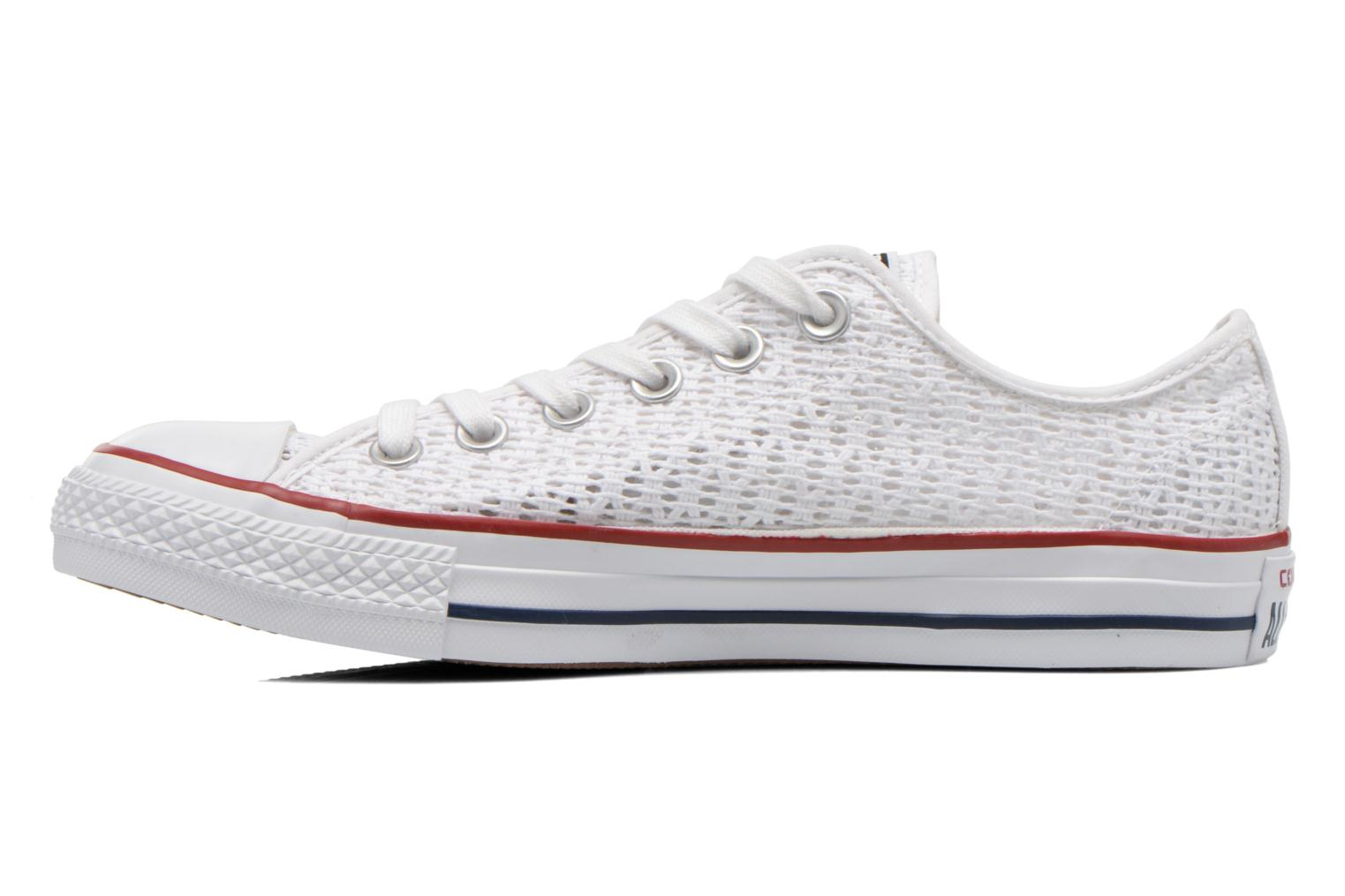 Baskets Converse Chuck Taylor All Star Ox W Blanc vue face