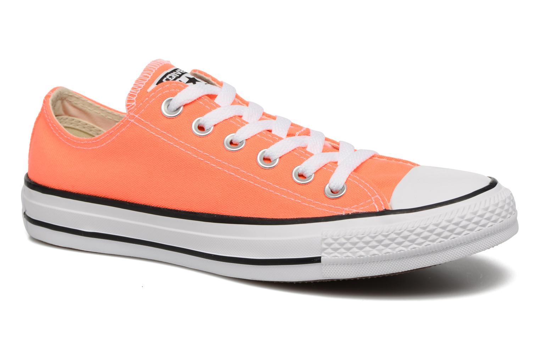 Baskets Converse Chuck Taylor All Star Ox W Orange vue détail/paire