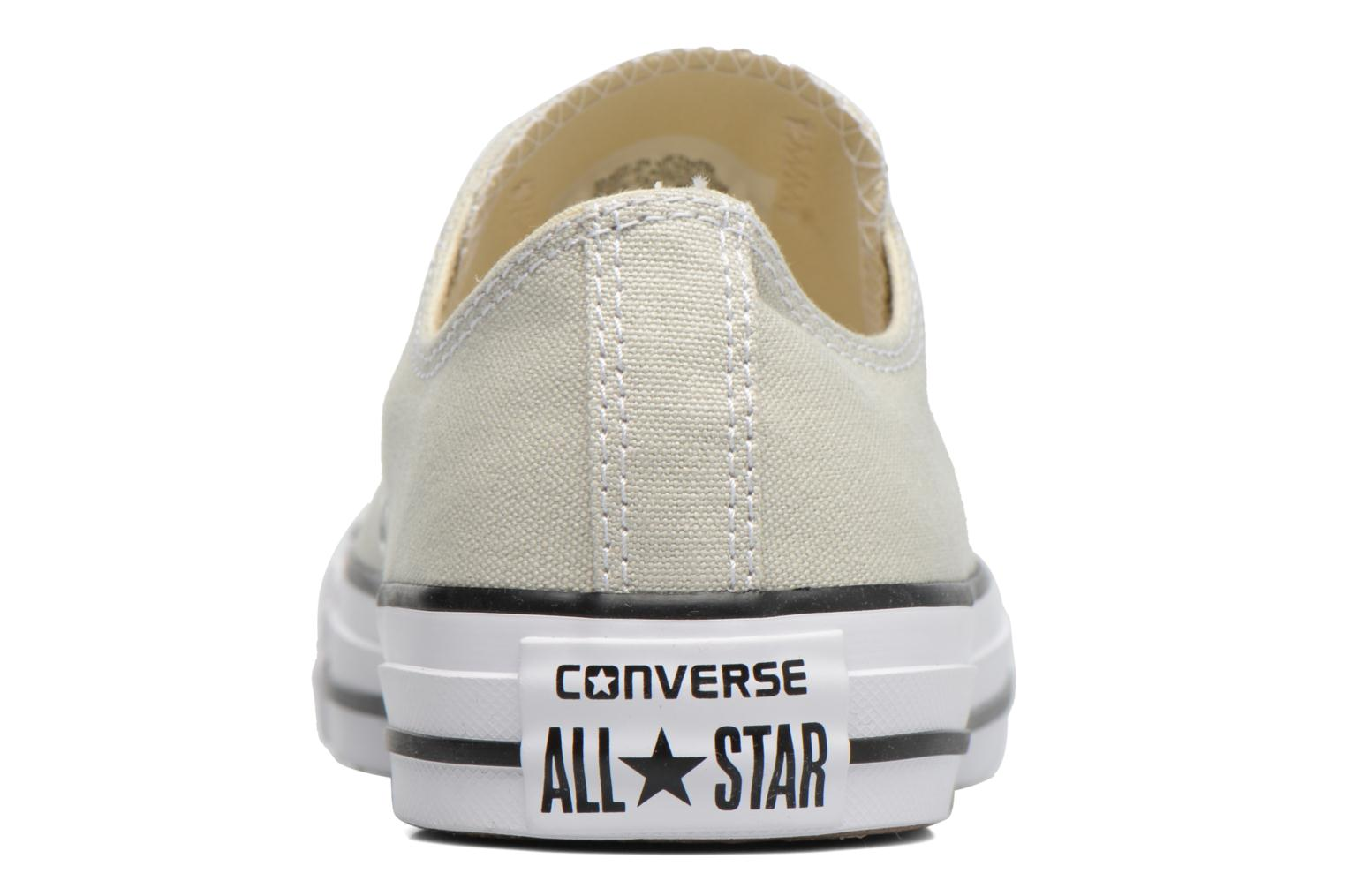 Baskets Converse Chuck Taylor All Star Ox W Beige vue droite
