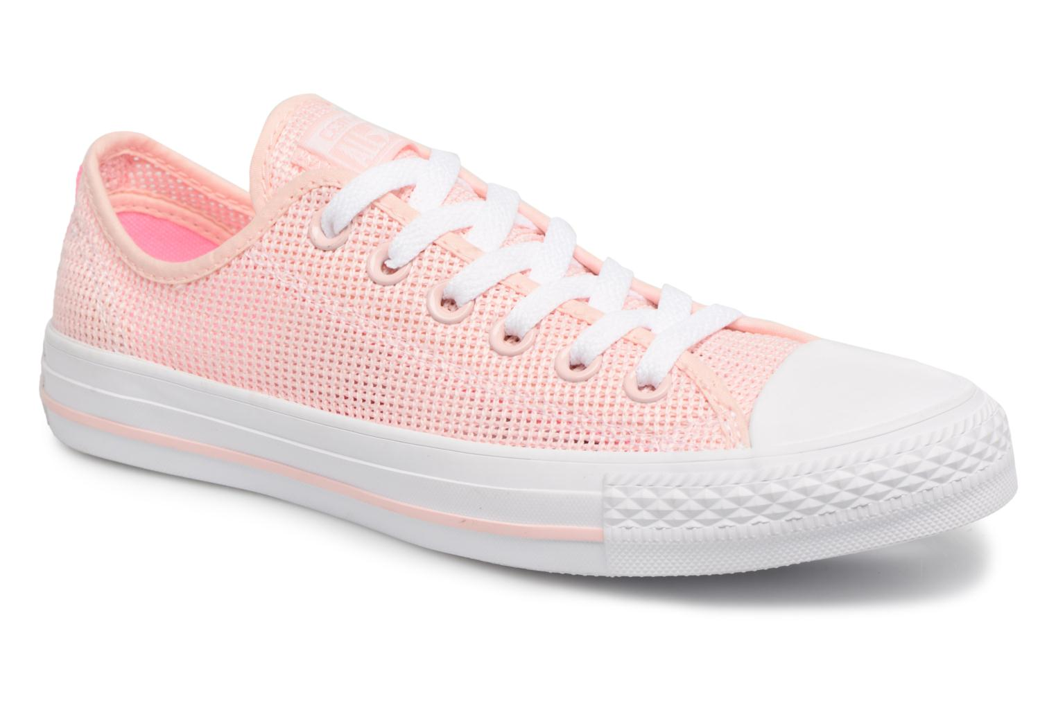 e455c0b533071 Converse Chuck Taylor All Star Ox W (Rose) - Baskets chez Sarenza ...